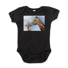 Giraffe and Calf Baby Bodysuit