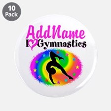 "TOP NOTCH GYMNAST 3.5"" Button (10 pack)"