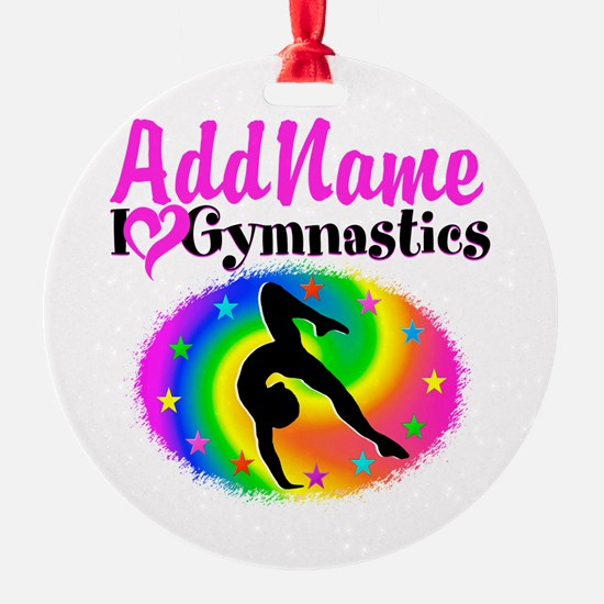 TOP NOTCH GYMNAST Ornament