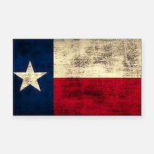 Texas Flag Rectangle Car Magnet