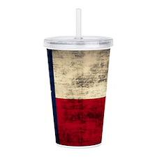 Texas Flag Acrylic Double-Wall Tumbler