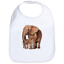 Cute Elephant design Bib