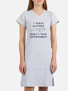 Cute Algebra Women's Nightshirt
