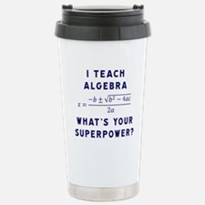 Unique Math Travel Mug