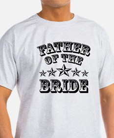 Cool Father Of The Bride Wedding T-Shirt