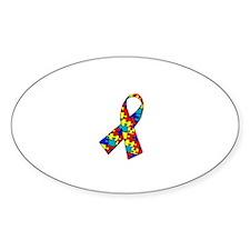 Puzzle Awareness Ribbon Decal