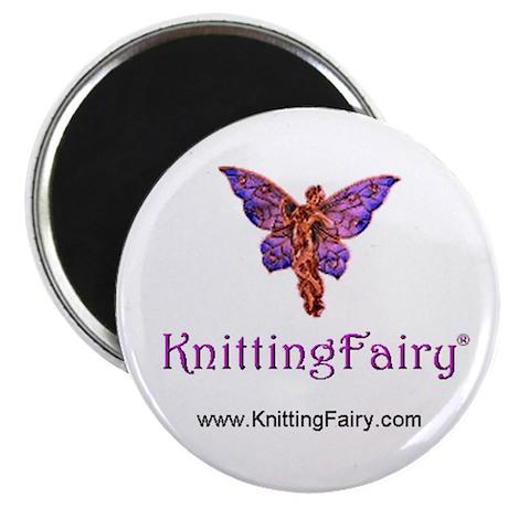 Knitting Fairy Magnet
