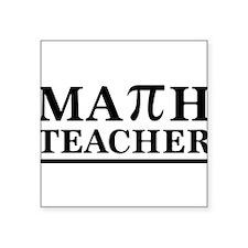 Math teacher Sticker