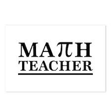 Math teacher Postcards (Package of 8)
