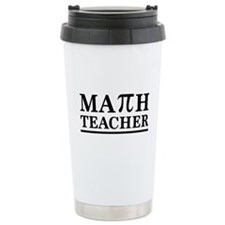 Math teacher Travel Mug