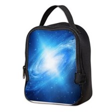 Blue Galaxy Neoprene Lunch Bag