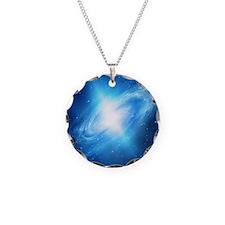 Blue Galaxy Necklace