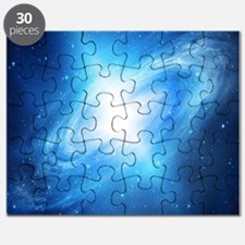 Blue Galaxy Puzzle