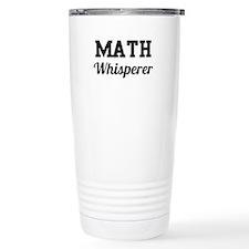 Math whisperer Travel Mug