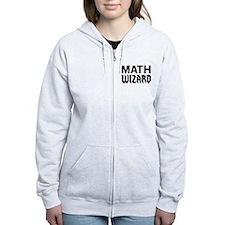 Math wizard Zip Hoodie