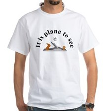 Plane To See, Color, Logo - T-Shirt