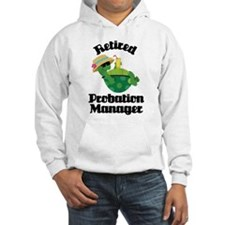 Retired probation manager Hoodie
