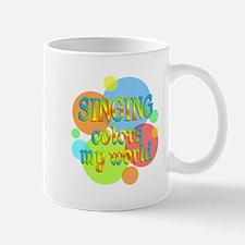 Singing Colors My World Mug
