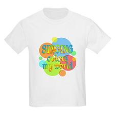 Singing Colors My World T-Shirt
