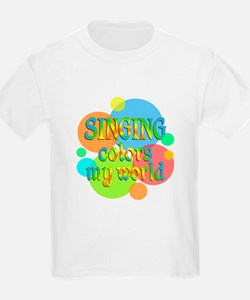 Singing Colors My World T-Shirt