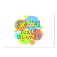 Singing Colors My World Postcards (Package of 8)