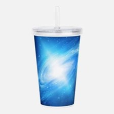 Blue Galaxy Acrylic Double-wall Tumbler