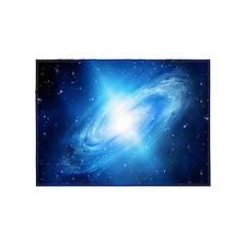 Blue Galaxy 5'x7'Area Rug