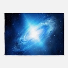 Blue Galaxy 5'x7'Area Rug