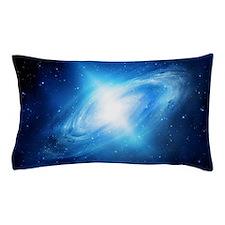 Blue Galaxy Pillow Case
