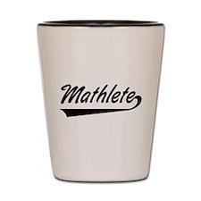 Mathlete Shot Glass