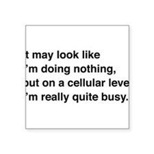 Cells are busy Sticker