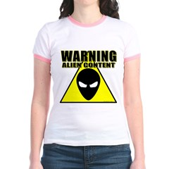 Warning Alien Content T