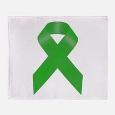 Awareness Ribbon Throw Blanket