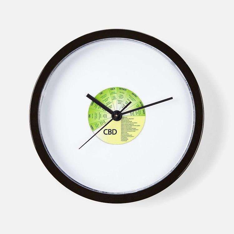 Cute Hemp Wall Clock