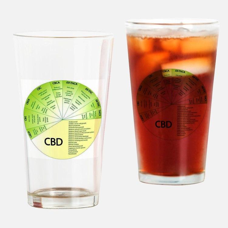 Cute Hemp Drinking Glass