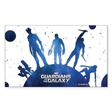 Guardians of the Galaxy Silhou Decal