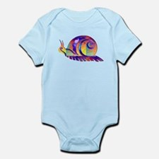 Polygon Mosaic Snail Multicolored Body Suit