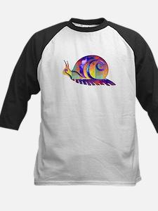 Polygon Mosaic Snail Multicolored Baseball Jersey