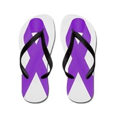 Unique March of dimes Flip Flops