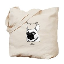 Change a Life Adopt Dunkie Tote Bag