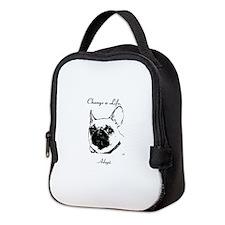 Change a Life Adopt Dunkie Neoprene Lunch Bag