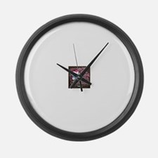 Unique Candy Large Wall Clock