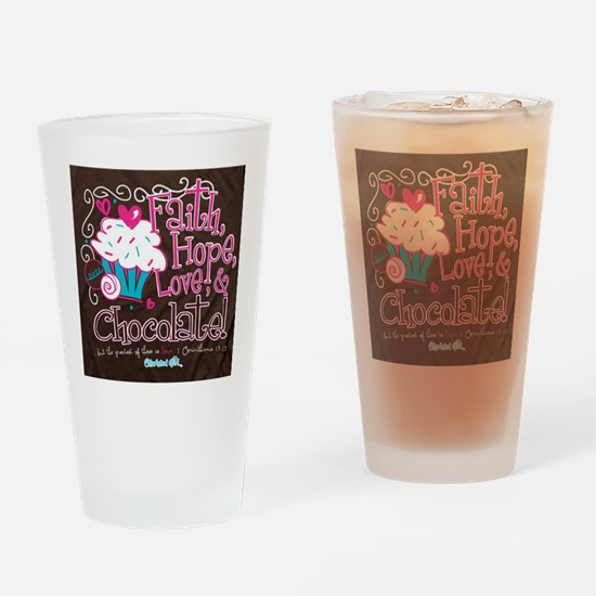 Unique Chocolate Drinking Glass