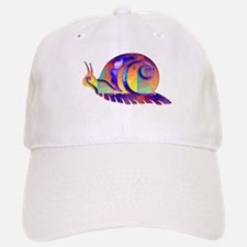 Polygon Mosaic Snail Multicolored Baseball Baseball Baseball Cap