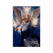 angel of light Rectangle Magnet