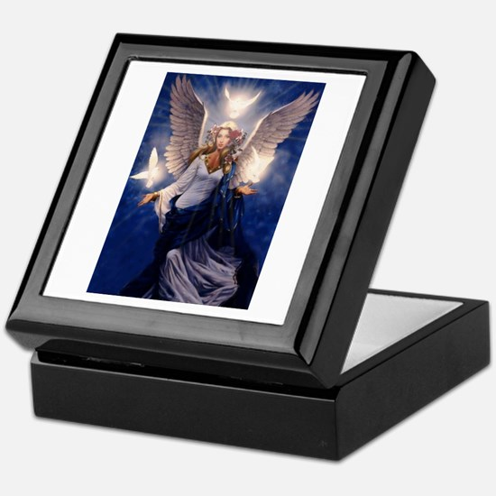 Unique Angel Keepsake Box