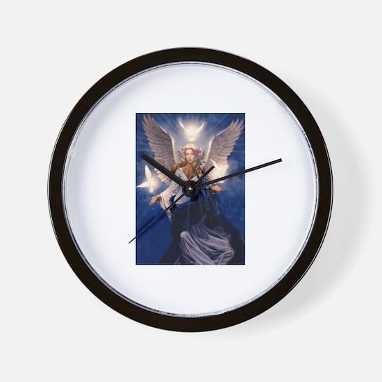 Funny Angel Wall Clock