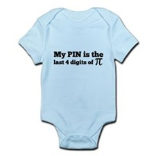 my pin last 4 digits of pi Body Suit