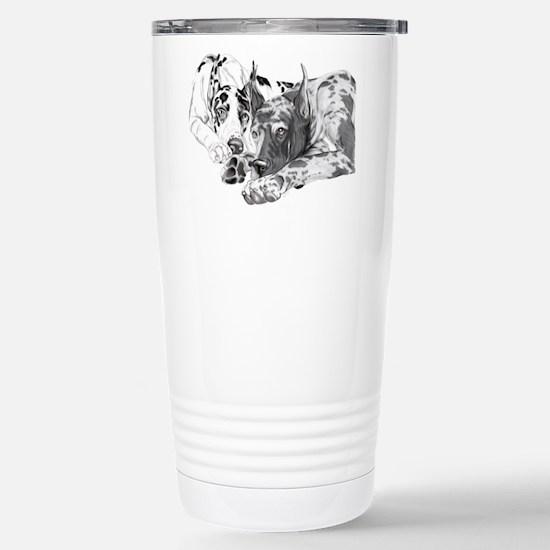 Great Dane Inseparable Stainless Steel Travel Mug