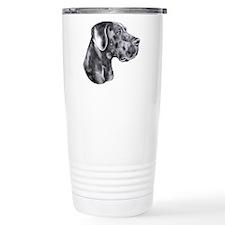 Great Dane HS Blue UC Travel Coffee Mug
